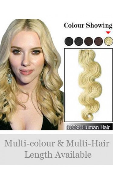 Tangle Free Wavy Full Head Synthetic Extension