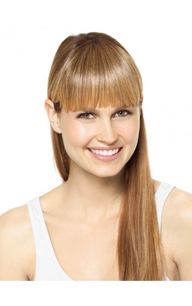 Prominent Remy Hair Clip In Fringes