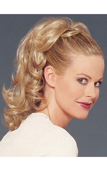 Synthetic Mid-length Ponytail With Clip