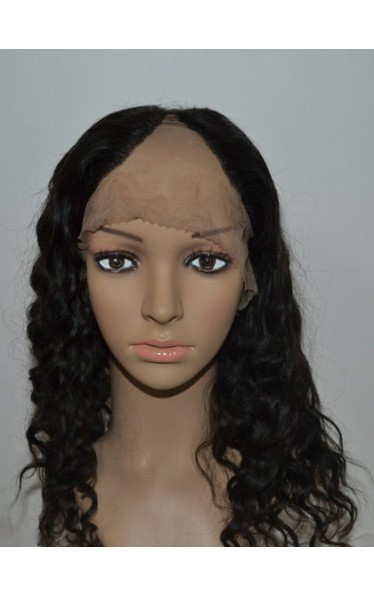 Long Curly Remy Hair U Part Wig