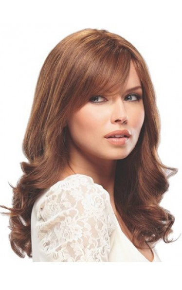 100% Human Hair Lace Front Long Wig