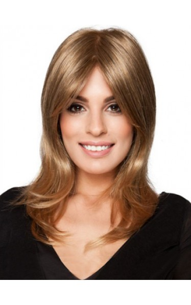 Middle Part Human Hair Lace Front Wig