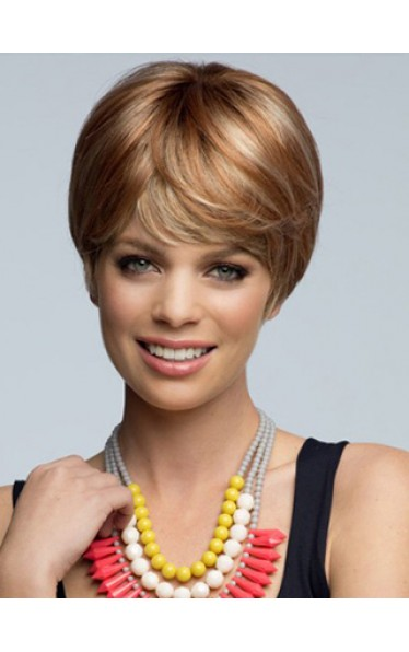 Hot Sell Short Straight Human Hair Wig