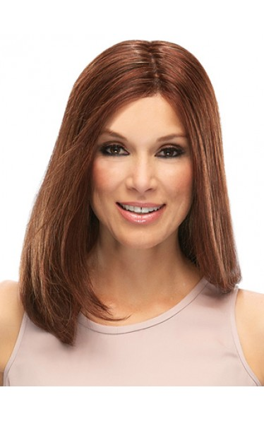 Mid-Length Straight Hair Lace Front Wig