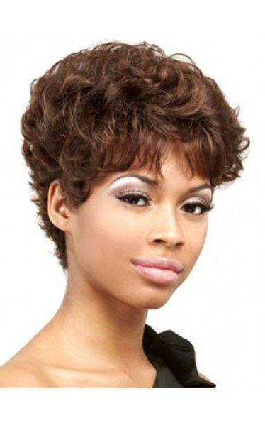 100% Remy Human Hair Curly Wig