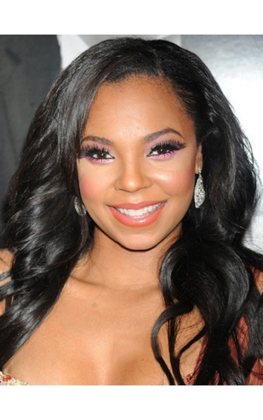 Beautiful Long Wavy Black African American Lace Wigs