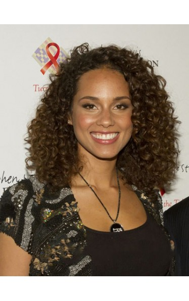 Delicate Curly African American Lace Front Wigs for Women