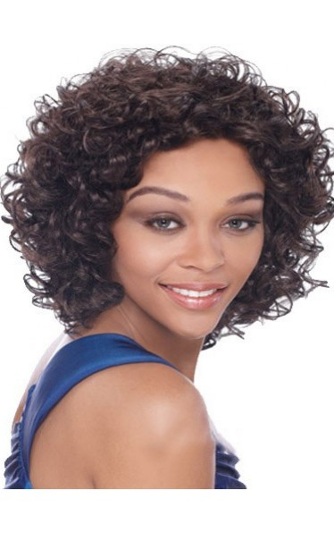 Dynamic Short Curly African American Lace Wigs for Women 10 Inch