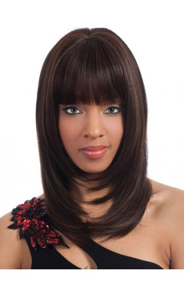 Wigs For Sale Straight Full Bang African American Wigs for Women