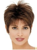 Short Length With Closout Style Synthetic Wig