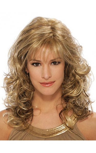 Long Curly Capless Synthetic Wig