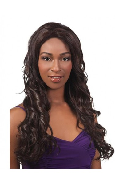 2013 New Long Wavy Lace Front Wig