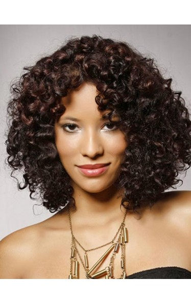 Short Curly Lace Front Wigs For Black Women