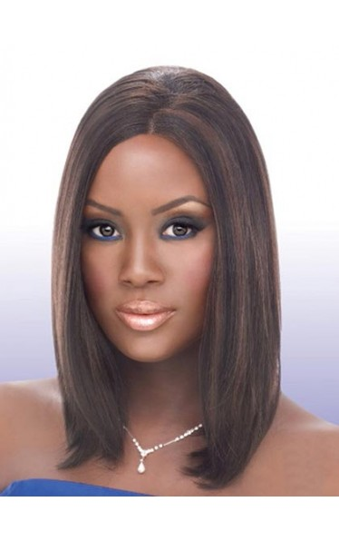 Chic Lace Front Synthetic Wig Medium Straight Wig