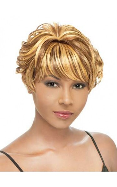 Short Wavy Beautiful Synthetic Wig