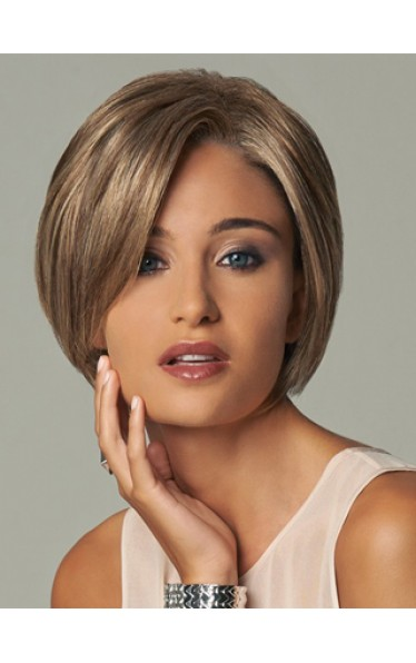 Short Chic Capless Wig