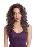 Long Spiral Curl Synthetic Lace Front Wig