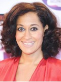 Tracee Ellis Ross Hairstyle Medium Wavy Full Lace Wigs