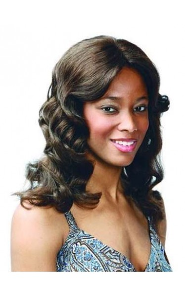 Human Hair Mono Top Wig For Black Woman