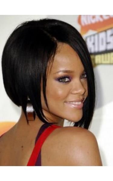 Rihanna Short Straight Celebrity Wigs