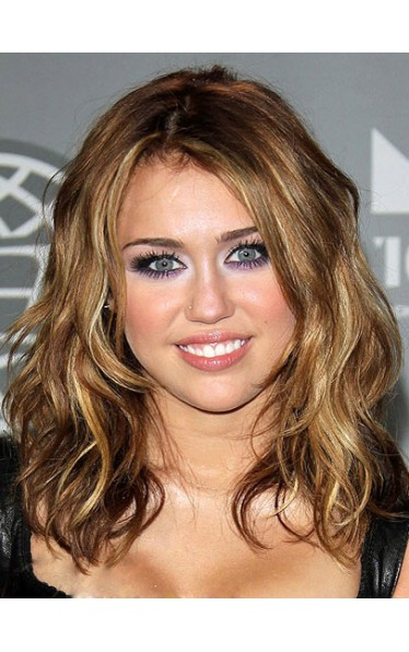 2012 Miley Cyrus Fashion New Style Hair Capless Wig