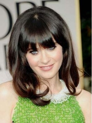 Zooey Deschanels New Prom Hairstyle Wig Mommy Wig D4 Wwg175