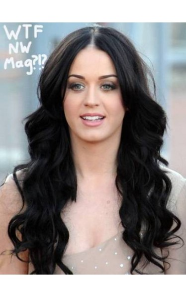 Katy Perry Long Full Lace Synthetic Wig