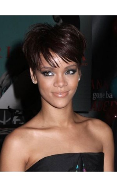 Rihanna Sporty Extra Short Synthetic Wig