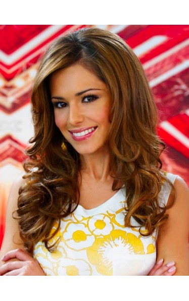 Cheryl Cole Beautiful Long Human Hair Wig