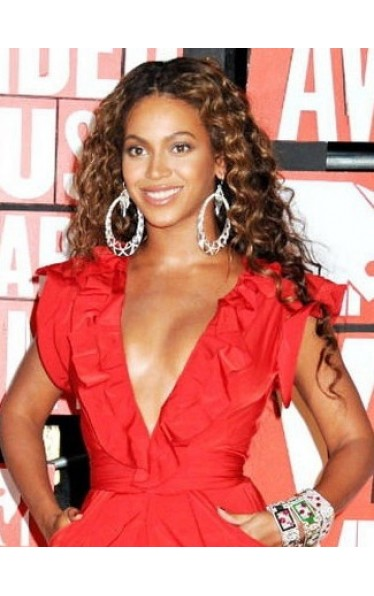Styleable heat-friendly synthetic hair Beyonce wig