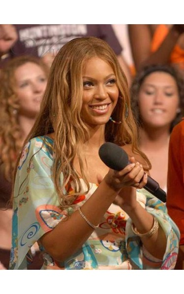 2013 Beyonce Gorgeous Long Wavy Full Lace Wig