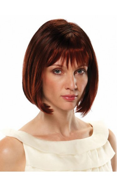 Classic Straight Bob Style Synthetic Capless Wig