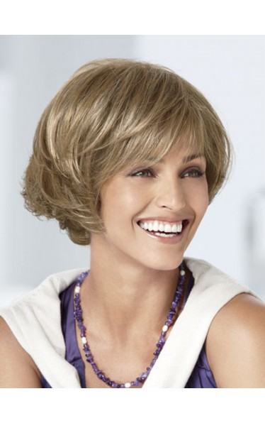 Hand-tied Top Gorgerous Bob Style Synthetic Wig