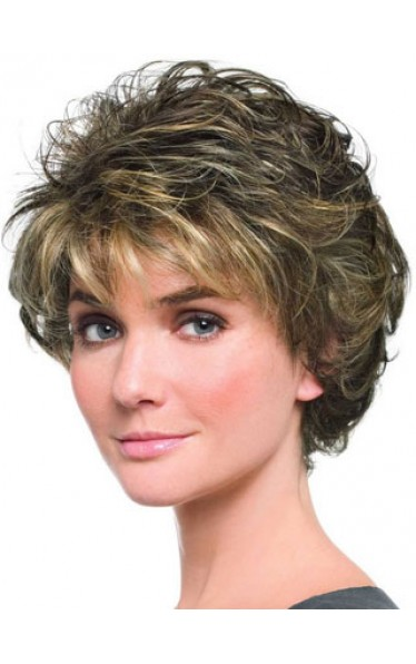 Beautiful Softly Curly Lightweight Short Capless Wig
