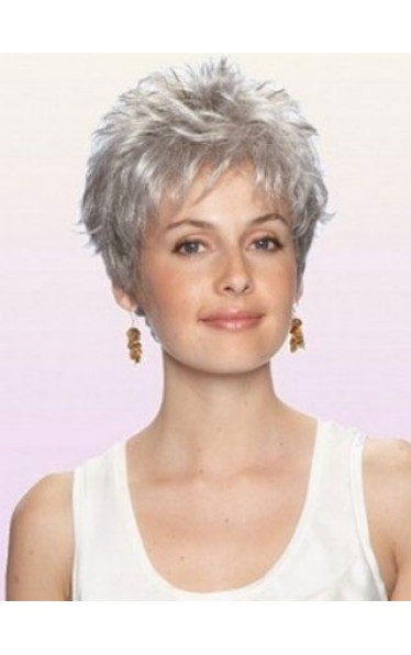 Modern Style Synthetic Short Wig