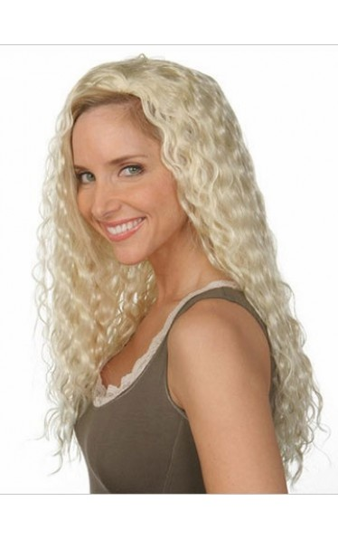 Extra Long Curly 3/4 Wigs